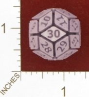 Dice : MINT26 SHAPEWAYS OPRESCO DIE 30 01