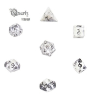 Dice : STONE MULTI CRYSTAL CASTE QUARTZ