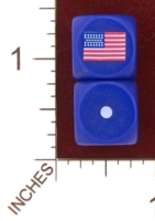 Dice : MINT29 NERO GAMING DICE AMERICAN CIVIL WAR UNITED STATES 01