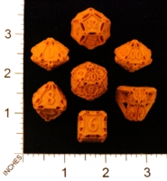 Dice : MINT22 SHAPEWAYS CERAMICWOMBAT DICE SET LARGE 04