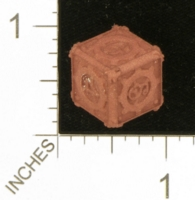 Dice : MINT27 SHAPEWAYS GYTHAWEN STEAMPUNK D6 02