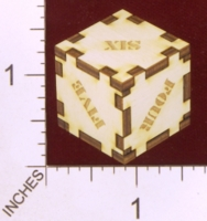 Dice : MINT28 J AND S CUSTOME LASER ENGRAVING WORDED 01