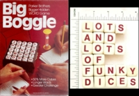Dice : NON NUMBERED PARKER BROTHERS BIG BOGGLE 01
