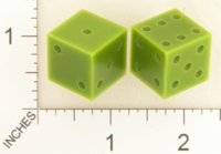 Dice : MINT18 ACE PRECISION NYLON GREEN PIPPED