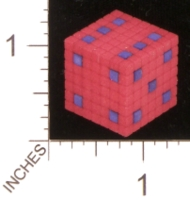 Dice : MINT28 SHAPEWAYS MCTRIVIA 8BIT GROUPED 01