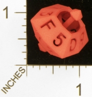 Dice : MINT26 SHAPEWAYS FRIZ HEXADECIMAL DIE 01