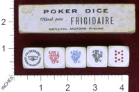 Dice : MINT36 FRIGIDAIRE FRANCE