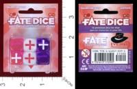 Dice : MINT38 EVIL HAT PRODUCTIONS FATE DICE VALENTINE DICE