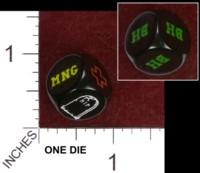 Dice : MINT34 CYMBELINE GAMES BLOOD BOWL INJURY DIE 01