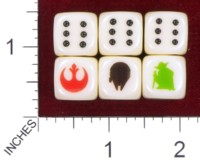 Dice : MINT38 BILL FORD STAR WARS GOOD GUYS