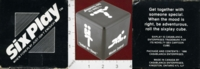 Dice : MINT25 CASABLANCA ENTERPRISES SIX PLAY 01