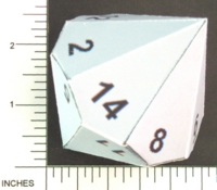 Dice : PAPER D14 MY DESIGN