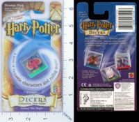 Dice : DUPS03 MATTEL HARRY POTTER DICERS FAWKES 01