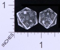 Dice : STONE D20 CHESSEX 04