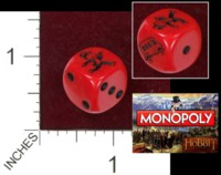 Dice : MINT36 WINNING MOVES MONOPOLY HOBBIT