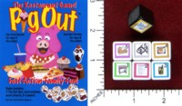 Dice : MINT45 RONALD A MAGAZZU THE RESTAURANT GAME PIG OUT