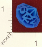 Dice : MINT24 SHAPEWAYS FRIZ DIAMOND D12