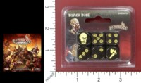 Dice : MINT51 COOL MINI OR NOT ZOMBICIDE BLACK PLAGUE 01