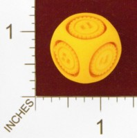 Dice : MINT25 SHAPEWAYS DIZINGOF FLOATING STEAMPUNK D6 DIE 01