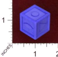Dice : MINT29 SHAPEWAYS MCTRIVIA D6 GRID DIE 08 07