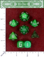 Dice : MINT48 BRYBELLY MASTERWORKS WIZ DICE MALACHITE