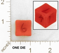 Dice : MINT25 SHAPEWAYS DIZINGOF SUNKEN D6 DICE 01