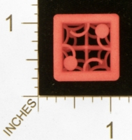Dice : MINT27 SHAPEWAYS MCTRIVIA D6 GRID DIE 05 01