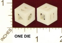 Dice : MINT22 SHAPEWAYS GLYPHOBET MEDIA DIE
