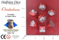 Dice : MINT52 GATE KEEPER GAMES HALFSIES DICE ORICHALCUM