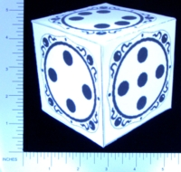 Dice : PAPER D06 Q-WORKSHOP DICE DESIGN CONTEST NOVEMBER 2007 MARCIN OSZCZYK 01