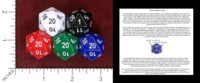 Dice : MINT49 THE DICE LAB NUMERICALLY BALANCED D20