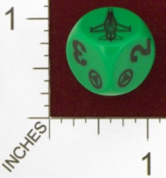 Dice : MINT25 UNCONVENTIONAL DICE NORWEGIAN F 16 01