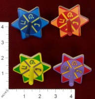 Dice : MINT38 AVIV JUDAICA STAR DREIDELS