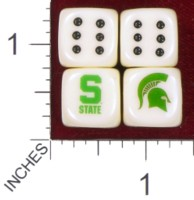 Dice : MINT38 BILL FORD MICHIGAN STATE UNIVERSITY
