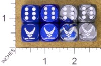 Dice : MINT34 JSPASSNTHRU USAF UNITED STATES AIR FORCE 01