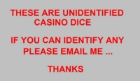 Dice : CASINO2 UNKNOWN 00