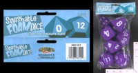 Dice : FOAM3 MINION GAMES SQUISHABLE FOAM POLYHEDRAL SET 06