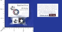 Dice : MINT56 BATTLESCHOOL BATTLEDICE AMERICA SERIES US ARMY