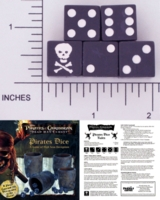 Dice : D6 OPAQUE SHARP SOLID FRIENDLY GAMES 01