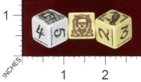 Dice : MINT43 TINDERBOX ENTERTAINMENT DICE EMPIRE SERIES 1 POE