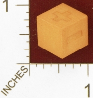 Dice : MINT27 SHAPEWAYS KENGRIBBLE ENGRAVED FUDGE DIE 1 5CM 01