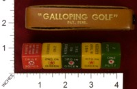 Dice : MINT32 GALLOPING GOLF 01