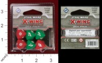 Dice : MINT32 FANTASY FLIGHT STAR WARS X WING MINIATURES GAME DICE PACK 01
