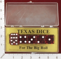 Dice : MINT27 CRISLOID TEXAS DICE 01