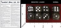 Dice : MINT34 FUNTIME MAGIC LOADED DICE SET 8 01