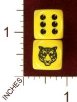 Dice : MINT30 JSPASSNTHRU TIGER 01