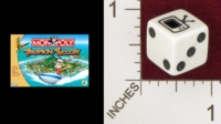 Dice : MINT22 PARKER PROTHERS MONOPOLY TROPICAL TYCOON