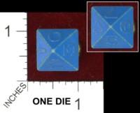 Dice : MINT44 UNKNOWN BLUE D8