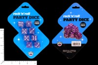 Dice : MINT54 BIGMOUTH ROCK N ROLL PARTY DICE