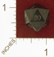 Dice : D20 OPAQUE SHARP SOLID ARMORY 01